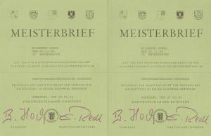 Meisterbriefe Zweirad + KFZ