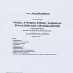 Urkunde Pedelecs 2